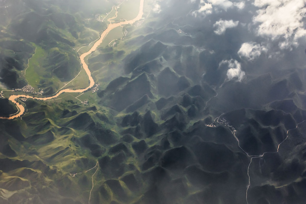 environs de canton, chine